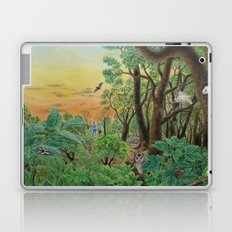 A Day of Forest (9). (the forest at night) Laptop & iPad Skin