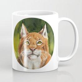 Lynx On the Lookout Coffee Mug