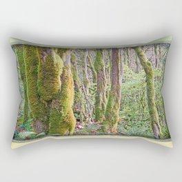 WARM AUTUMN RAINFOREST Rectangular Pillow