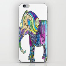 Elephant Profile iPhone & iPod Skin