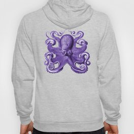 Octopus1 (Purple, Square) Hoody