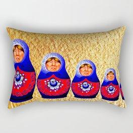 Trampbushka | Funny | Comedy Rectangular Pillow