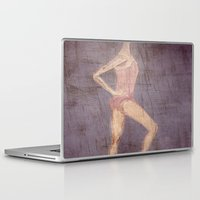 ballerina Laptop & iPad Skins featuring Ballerina by visualTeo