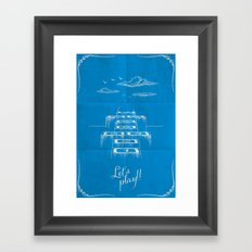 Stairway to heaven! Framed Art Print