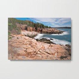 Acadia National Park - Thunder Hole Metal Print