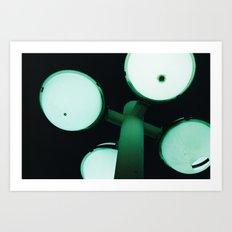night green Art Print