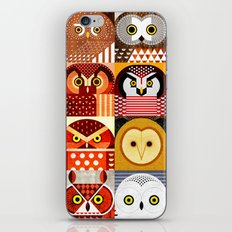 North American Owls iPhone & iPod Skin