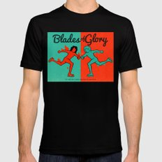 Blades of Glory Mens Fitted Tee Black SMALL