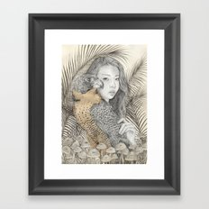 There Are Spies Among Us Framed Art Print