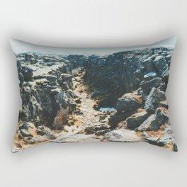Thingvellir I Rectangular Pillow