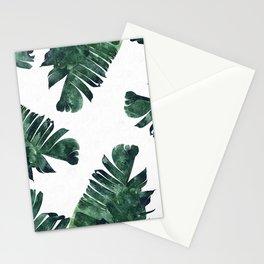 Banana Leaf Watercolor #society6 #buy #decor Stationery Cards