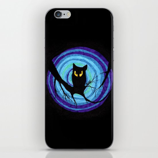 time for child stories: the EVIL OWL iPhone & iPod Skin