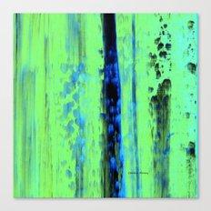 Gerhard Richter Inspired Urban Rain 2 - Modern Art Canvas Print