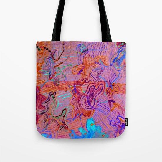 amoeba's sounds - horizon Tote Bag