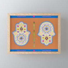 Hamsa Framed Mini Art Print