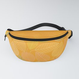 LEAVES ENSEMBLE ORANGE YELLOW Fanny Pack