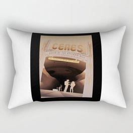 Ceres - NASA Space Travel Posters (Alternative) Rectangular Pillow