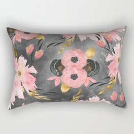 Night Meadow Rectangular Pillow