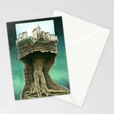 City on a tree Stationery Cards