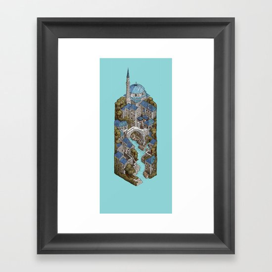 Mostar Framed Art Print