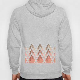 Pink Déco Mountains #society6 #buyart Hoody