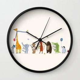 little parade Wall Clock