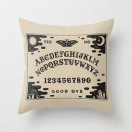 Spirit Board Throw Pillow