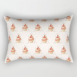 cupcake with currant Rectangular Pillow
