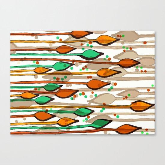 spearheads v1 Canvas Print