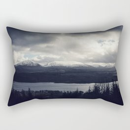 Late Winter in the Trossachs Rectangular Pillow