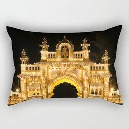 Main Gate of Mysore Palace Rectangular Pillow
