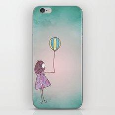 One Ballon iPhone & iPod Skin