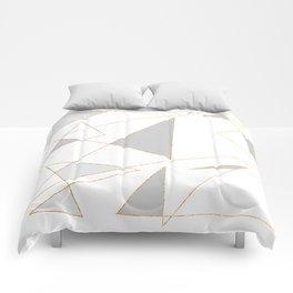 Duo of Triangles Comforters