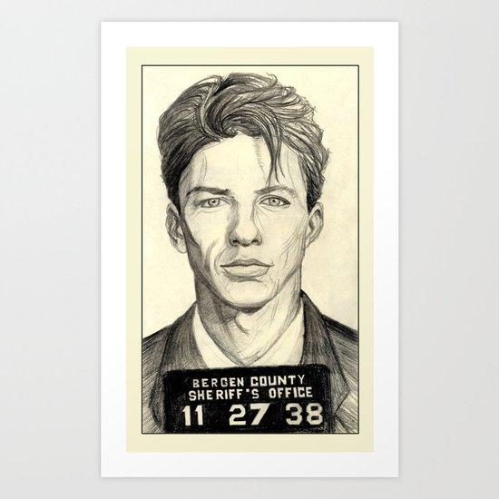 Frank Sinatra - Mugshot 1938 Art Print
