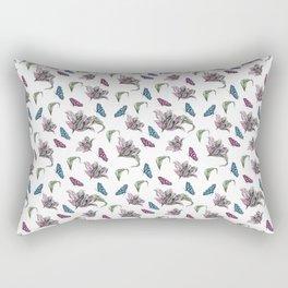 Tulips and Butterflies Rectangular Pillow