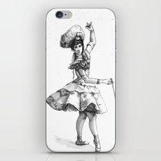 Equestrian Dancer iPhone & iPod Skin