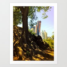 Roots of the Big Apple Art Print