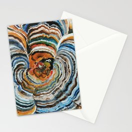 "Trametes ""Turkey Tail"" Mushroom Stationery Cards"