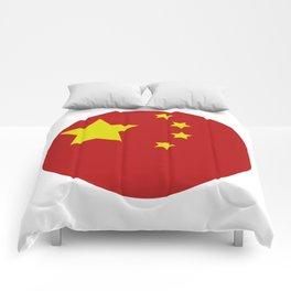 China flag Comforters