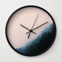 Island Landscape Wall Clock