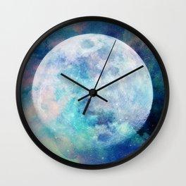 Moon + Stars Wall Clock