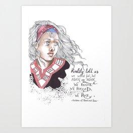 Children of blood and bone Art Print