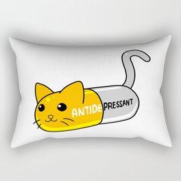Cat Pill Rectangular Pillow