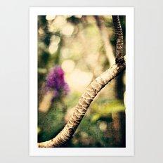 In the Garden 2 Art Print