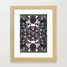 Floral Pelvis Framed Art Print