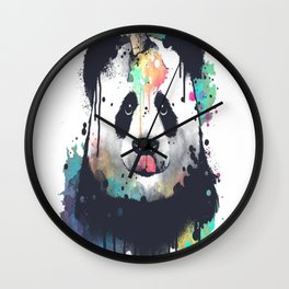 Ice cream pandacorn Wall Clock