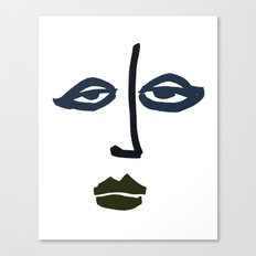 Simple Face Canvas Print