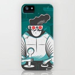 arcade nerd iPhone Case