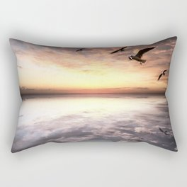 Water and Heaven Rectangular Pillow