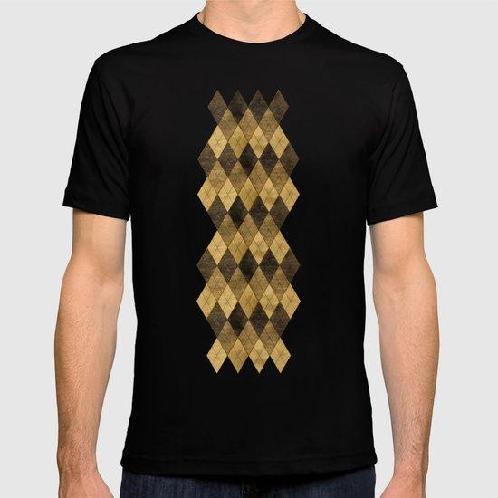 Wooden big diamond T-shirt